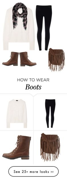 """Combat Boots #2"" by maggieamagoo on Polyvore featuring Charlotte Russe, rag & bone, Forever 21 and Glamorous"