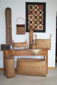 Jean Johnson Hand Woven Baskets - the basket shop