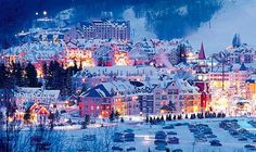 Fairmont Tremblant, Quebec: Surrounded By Lakes, The Laurentian Mountains And Hiking Trails To Explore, The Fairmont Tremblant Is Beautiful All Year Round; However It's During Snow Season That The Property Comes Into Its Own As A Fairy-tale Cool Weather Destination.