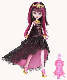 Monster High 13 Wishes Draculaura Doll