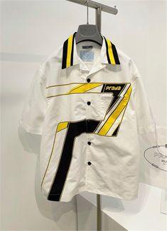 Chanel Outfit, Brand You, Nike Jacket, Motorcycle Jacket, Prada, Latest Trends, Polo Shirt, Jackets, Shirts