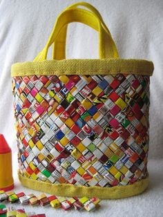 Michele Soflarsky!  Totally still have the little change purse made of these!!!!! Its like ine of my secret treasures lol.