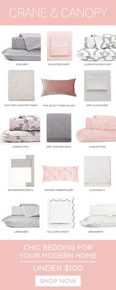 From chic bedding, designer duvet covers to luxury sheets, we've got everything you need build the bedroom of your dreams. Named HGTV's best site for bedding. My New Room, My Room, Girl Room, Big Girl Bedrooms, Girls Bedroom, Bedroom Inspo, Bedroom Decor, Bedroom Ideas, Luxury Sheets