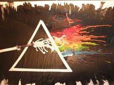 Pink floyd crayon art? hellzzz yeah
