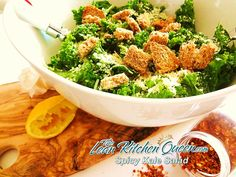 Spicy Kale Salad Feature