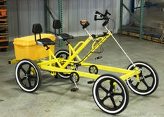Rhoades Industrial Bike Series - 2 Person Transporter Quadricycle | Rhoades Car