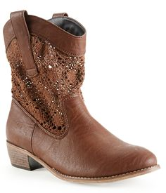 Crochet Boot from Aéropostale