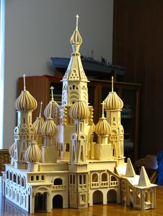 Finished at last!  The package says it is a Saint Petersburg church.