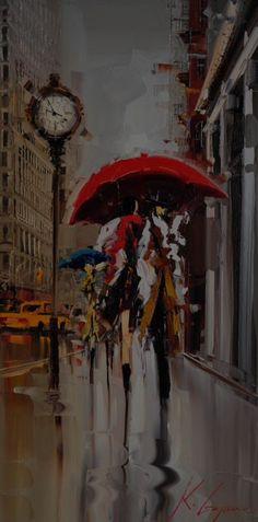 Fifth Avenue, New York by Kal Gajoum