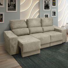 Conforto, praticidade e beleza? Pode apostar que este sofá tem tudo isso! ;)