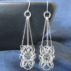 Earrings - Turkish Orbital Chandeliers. $27.00, via Etsy.