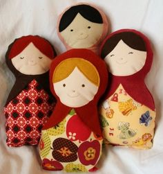 I could make a matryoshka doll heat pack!