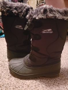 de15b4e292c472 Articcat Winter Boots Black  fashion  clothing  shoes  accessories   womensshoes  boots (ebay link)