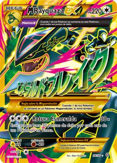 Pokemon Mega Rayquaza Shiny Jumbo by Pokemon Center by Pokemon Center. Pokemon Mega Rayquaza Shiny Jumbo by Pokemon Center Pokemon Rayquaza, Mega Rayquaza, Cool Pokemon Cards, Pokemon Online, Rare Pokemon Cards, Pokemon Trading Card, Pokemon Breeds, Skylanders, Avengers