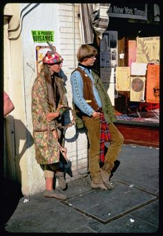 """Hippies of Haight Street""  San Francisco, 1967"