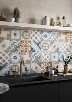 CEMENTINE_RETRÒ | Ceramiche Fioranese: Keramik und Feinsteinzeugfliesen für Outdoor-Fußböden und Verkleidungen im Innenbereich.