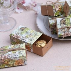 4bfd59041898d World map Candy Boxes Gift Box Sugar Candy Box with Burlap Wedding Favor