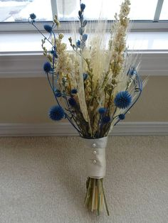 Check out this item in my Etsy shop https://www.etsy.com/listing/595299523/bridal-bouquet-dried-bouquet-attendant