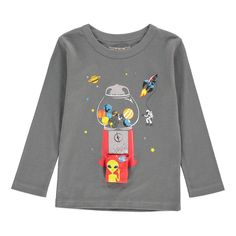 Planets Tom T-Shirt Milk on the Rocks Children- A large selection of Fashion on Smallable, the Family Concept Store - More than 600 brands.
