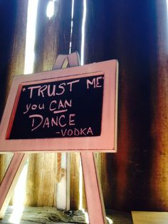 Always trust vodka I Trusted You, Trust Yourself, Vodka, Our Wedding, June, Canning, Decor, Decoration, Decorating