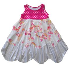 Kids fashion that's comfortable, adorable, and creative. This is the TwirlyGirl Petal Dress. Put in on and watch her bloom! Click to see more.