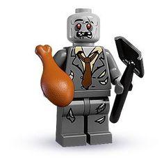 NEW Lego Boy//Girl Punk Rock Band MINIFIG TORSO Walking Dead Zombie