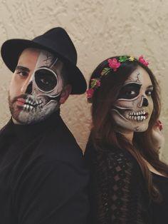Halloween couples skeleton costume ☠❣