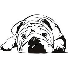 english bulldog line drawing Wall Stickers Dogs, Bulldogge Tattoo, Mini English Bulldogs, Bulldog Mascot, Bullen, Scroll Saw Patterns, Silhouette Projects, Line Drawing, Pet Dogs