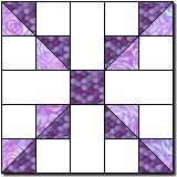 Quilt Blocks Galore - Marcia Hohn's free quilt block patterns and quilting lessons Patchwork Quilt Patterns, Quilt Block Patterns, Pattern Blocks, Quilt Blocks, Quilting Templates, Quilting Tips, Quilting Designs, Painted Barn Quilts, Purple Quilts