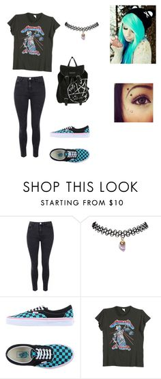 """"""""""" by marialk-1 ❤ liked on Polyvore featuring Glamorous, Wet Seal, Vans, MadeWorn, women's clothing, women, female, woman, misses and juniors"""