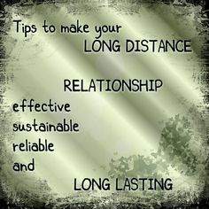 LIVE THE WAY YOU WANT: LONG DISTANCE RELATIONSHIP. Blogging