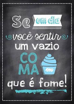 Poster Tipo Lousa p/ Cozinha Lettering Tutorial, Decoration, Chalkboard, Funny Quotes, Geek Stuff, Inspirational Quotes, Messages, Thoughts, Words
