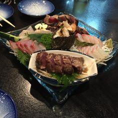 高知県高知市のあおき。ここのカツオのタタキは、世界一美味しい。