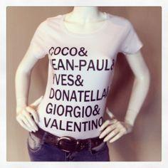 coco& jean-paul& Yves& Donatella& Giorgio& Valentino @fratellosemmen