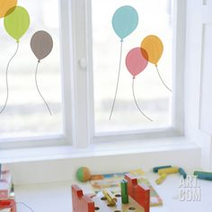 Balloon decals
