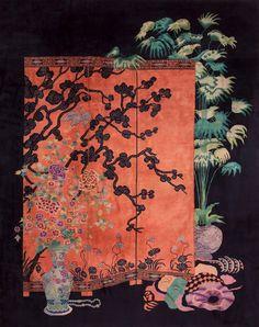 Nichols Chinese Art Deco Rug