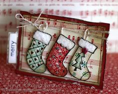 Merry Christmas ATC by scrapperjjb, via Flickr