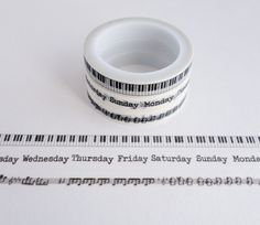 Single roll of washi tape with diagonal rainbow stripes pattern. Great for scrapbooking, gift wrapping, decorating cards and envelopes and more! Add a little dash of cuteness to any crafting project! Washi Tape Storage, Washi Tape Crafts, Washi Tape Set, Masking Tape, Happy Birthday Eve, Mt Tape, Duck Tape, Washi Tape Planner, Music Gifts