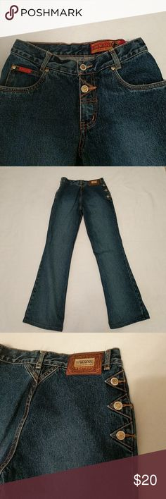 Unique Lawman jeans They have a 28-inch waist and a 29 inch inseam. They are in excellent condition! Lawman Jeans