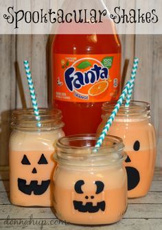 Spooktacular Shakes Halloween Fun with Fanta and Dasani #SpookySnacks #cbias #shop