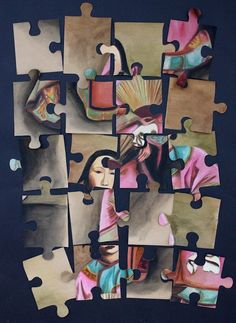 IB Visual Arts work by Katie Lau, Y12. www.nickycases.com