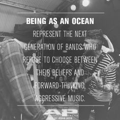 Who else can't get enough of Being as an Ocean?! Featured in AP 311 (June 2014)