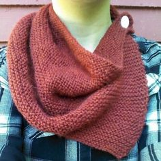 Burgundy Alpaca Punk Button Cowl by ENDLESS/REVOLT | Project | Knitting / Scarves, Shawls, & Cowls | Kollabora