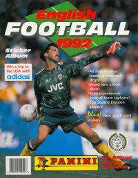 Panini Football 1992 Album Cover