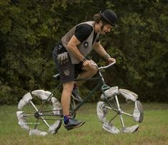 Weird Bicycles.