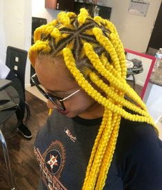 43 Cool Blonde Box Braids Hairstyles to Try - Hairstyles Trends Try On Hairstyles, Black Girl Braids, Braided Hairstyles For Black Women, Chic Hairstyles, African Braids Hairstyles, Braids For Black Hair, Protective Hairstyles, Blonde Box Braids, Bob Braids