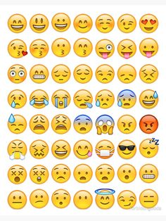 This is a pin of all my favorite FACE emojis Emoji Stickers, Printable Stickers, Cute Stickers, Emoji Wallpaper Iphone, Cute Emoji Wallpaper, Iphone 7, Emoji List, Emoji Combinations, Emoji Drawings
