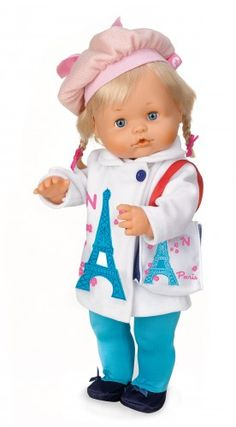 Nenuco. Ropita Deluxe: Francia. #ToyStore #babydolls #dolls #clothes #juguetes #toys Your Favorite, Baby Dolls, Kids Room, Toys, Cute, Doll Clothes, France, Celebs, Past