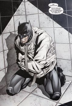 He grew up a patient at Arkham Asylum   When Bruce Wayne outgrew the children's psych ward, he was sent to Arkham Asylum. As for all the doctors, caretakers, and employees that he encounters there, his mind warped them into super villains.