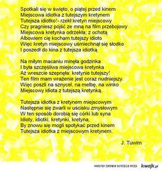 Najlepsze Obrazy Na Tablicy Tuwim 45 Wiersze Cytaty Z